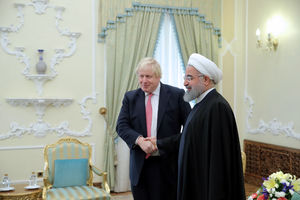 عکس/ دیدار وزیر خارجه انگلیس با روحانی