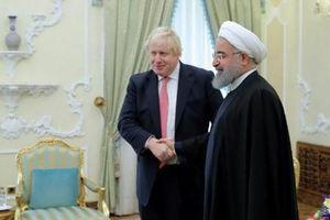 فیلم/ دیدار وزیر خارجه انگلیس با روحانی
