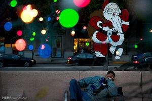 عکس/ افزایش تعداد بیخانمان های آمریکا