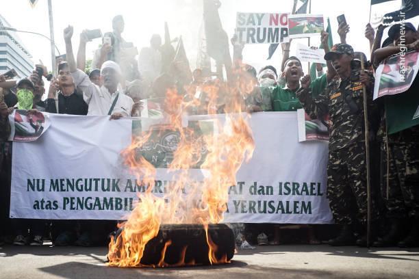 تظاهرات مردم جاکارتا در حمایت از قدس