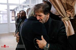 حضور هنرمندان در مراسم ختم برادر ابولفضل پور عرب