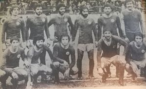 تصویری زیرخاکی از تیم استقلال در جام میلز
