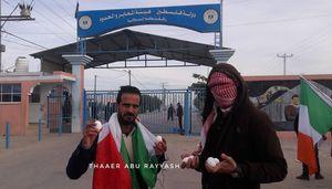 عکس/ استقبال متفاوت مردم غزه از هیأت بحرینی