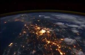 فیلم/ نمایی حیرت انگیز از کره زمین