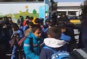 فیلم/ وضع یکی از مدارس کرمان پس از زلزله 6 ریشتری