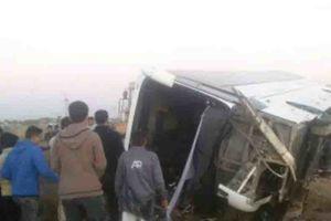 نخستين تصاویر از حادثه تصادف اتوبوس راهیان نور