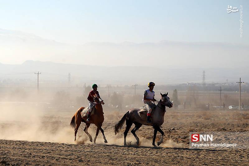 عکس/ کورس پاییزه اسبدوانی خراسان شمالی