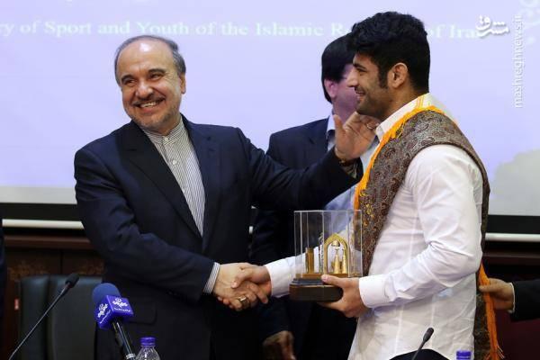 علیرضا کریمی: از هدیه رهبر انقلاب حسابی غافلگیر شدم/ هدف من طلای المپیک است