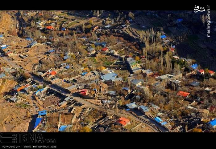 تصویر هوایی از منطقه زلزله زده هجدک کرمان