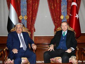عکس/ دیدار محمودعباس با اردوغان در استانبول