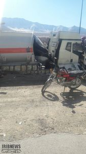 عکس/ انفجار مرگبار تانکر سوخت در اراک