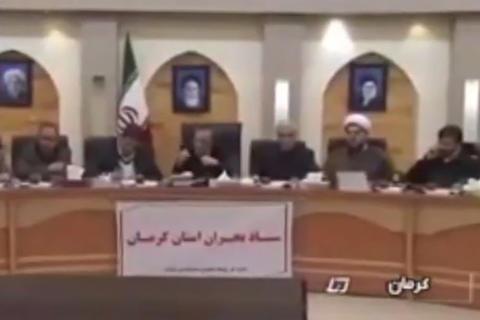فیلم/ عصبانیت استاندار کرمان و اخراج دو مدیر از جلسه