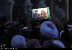 پیکر دو شهید مدافع حرم فاطمیون در استان البرز تشییع میشود