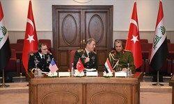 نشست امنیتی ۳ جانبه ترکیه، آمریکا و عراق در آنکارا
