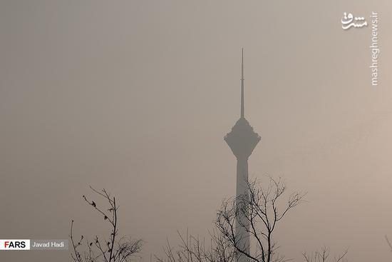 هوای تهران در وضعیت ناسالم برای گروه های حساس