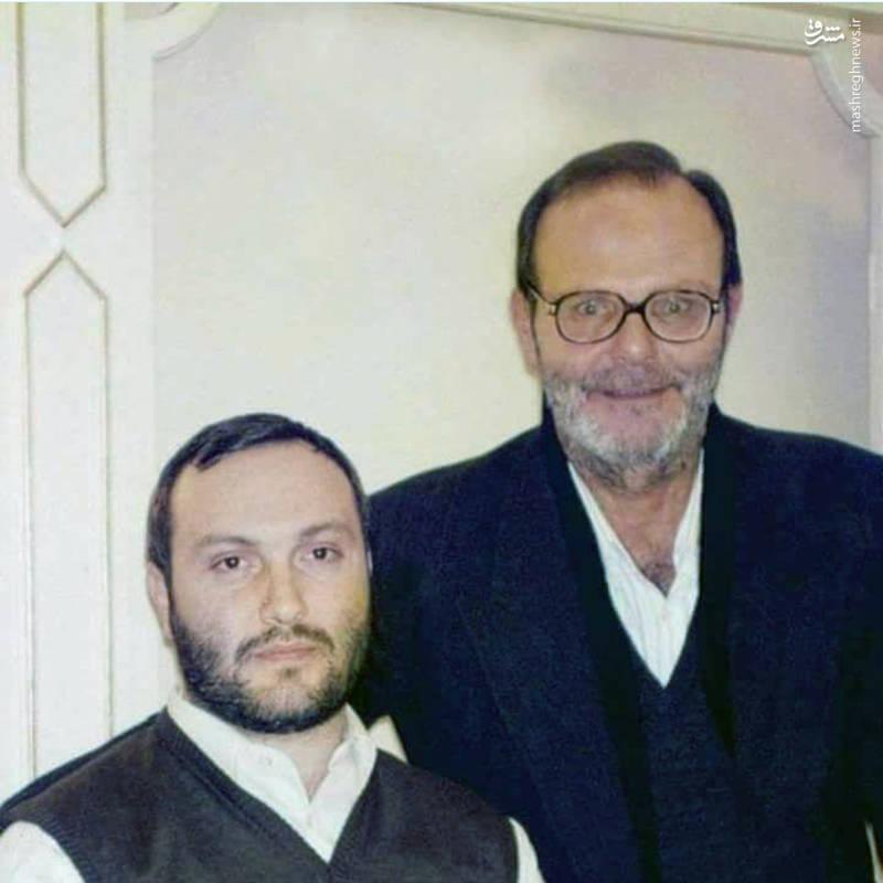 عماد مغنیه و پدرش