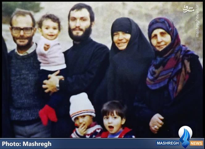 عماد معغنیه و خانواده اش