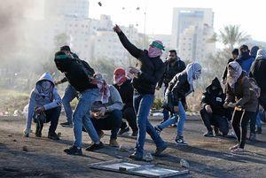 دختران فلسطینی در انتفاضه سوم