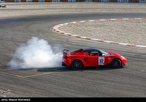 عکس/ مسابقات اتومبیلرانی سرعت قهرمانی کشور