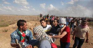 شهادت جوانی فلسطینی در نوار غزه/دهها نفر زخمی شدند