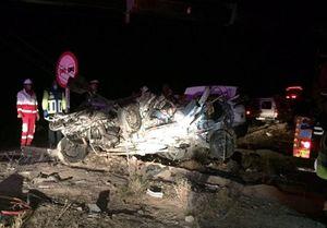 سقوط خودرو به دره در محور کرج چالوس ۲ کشته برجای گذاشت