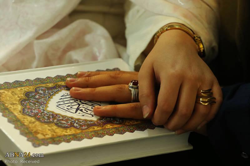 جشن ازدواج زوجهای جوان در حرم حضرت معصومه(س)