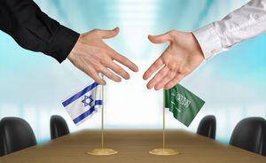 نمایه عربستان و اسرائیل