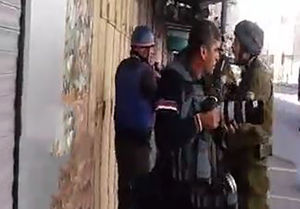 فیلم/ تهدید خبرنگار صدا و سیما توسط سرباز اسرائیلی