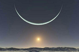 تصویر دیدنی از طلوع آفتاب در قطب شمال