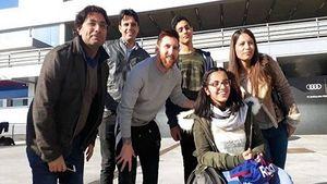 عکس/ بارسلونا رویای دختر سوری را واقعیت بخشید