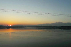 عکس/ غروب زیبای خورشید در شورابیل