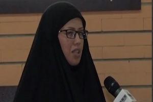 فیلم/ گلایه همسر شهید مدافع حرم از انتشار یک دیدار خصوصی