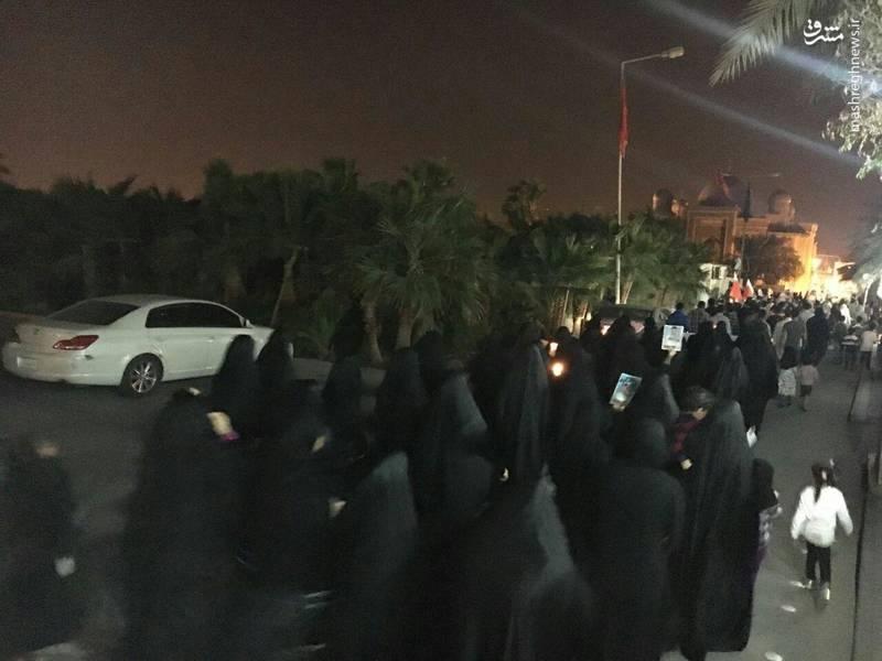 عکس/ ادامه تظاهرات ضد ترامپ در بحرین