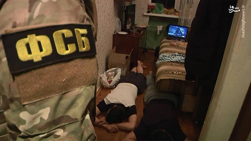 عکس/ خنثیسازی عملیات تروریستی در روسیه