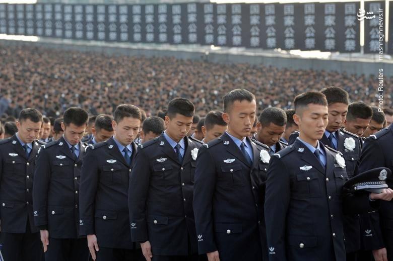 گرامیداشت هشتادمین سالگرد کشتار نانجینگ در چین. در آن واقعه مردم شهر پس از ورود نیروهای ژاپنی مورد آزار و کشتار گسترده قرار گرفتند.