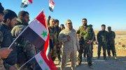 میدانداری داعش و جندالاقصی در شمال حماه