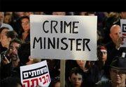 تظاهرات دهها هزار نفری در تلآویو علیه نتانیاهو +عکس