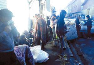 معبرهای بازار پایتخت در تسخیر معتادان و قاچاق فروشان