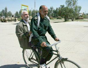 عکس/ دوچرخه سواری ۲ سردار