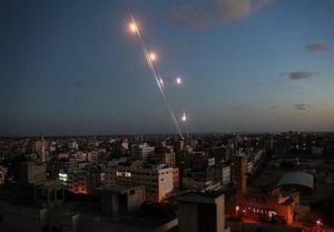 فیلم/ بزرگترین واکنش خمپارهای مقاومت به اسرائیل