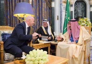 دیدار اینفانتینو با سران سعودی