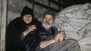 کشف قاچاق پیر زن و پیر مرد توسط ماموران گمرک