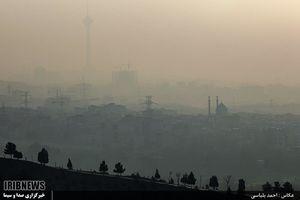 آلودگی هوای تهران همچنان در حالت هشدار