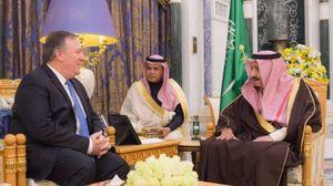 دیدار رئیس «سیا» با شاه سعودی