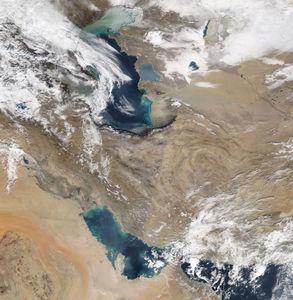 وضعیت آب و هوای امروز ایران