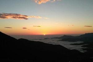 عکس/ طلوع زیبای آفتاب در بلندیهای حیران