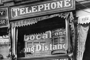 عکس/ نخستین تلفن همگانی در لس آنجلس
