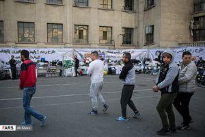 عکس/ دستگیری اراذل و اوباش پایتخت