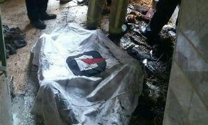 یک فوتی در آتش سوزی دولت آباد