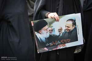 پیام تشکر خانواده شهید خوش لفظ از رهبر انقلاب
